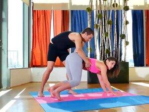 Ficken Mutter Während Yoga