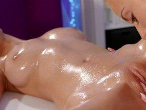 Lesbisch Öl Muschi Massage