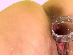 Puffy Feucht Muschi Masturbate