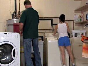 Ebenholz Teen Waschküche