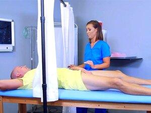 Krankenschwester Blauer Handschuh Blowjob